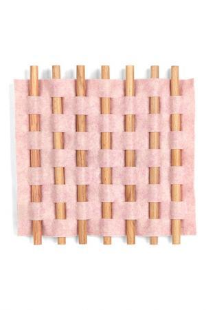 Декор для стен LOOMA UMBRA. Цвет: розовый