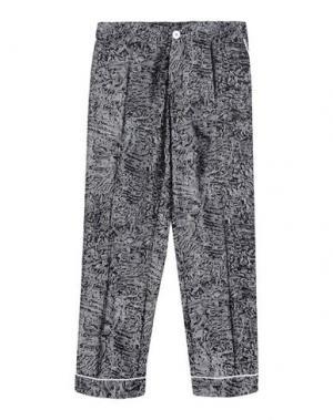 Повседневные брюки F.R.S. FOR RESTLESS SLEEPERS. Цвет: стальной серый