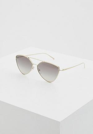 Очки солнцезащитные Prada. Цвет: золотой