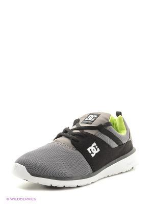 Кроссовки DC Shoes. Цвет: серый, черный
