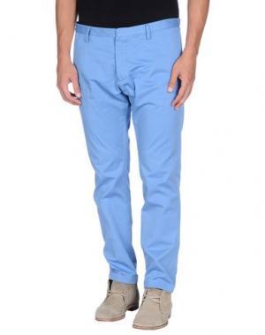 Повседневные брюки DSQUARED2. Цвет: небесно-голубой