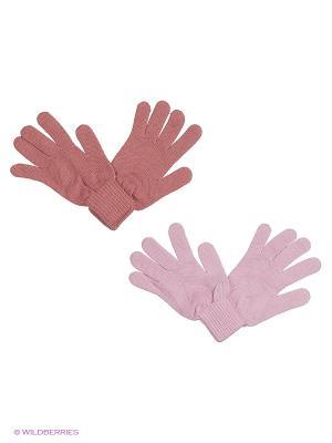 Перчатки FOMAS. Цвет: лиловый, розовый