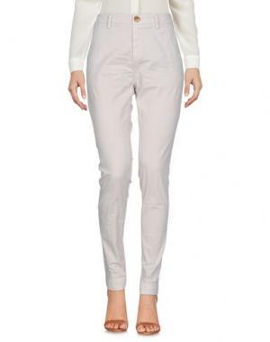 Повседневные брюки AGLINI. Цвет: бежевый