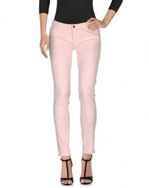 Джинсовые брюки VANESSA BRUNO ATHE'. Цвет: розовый