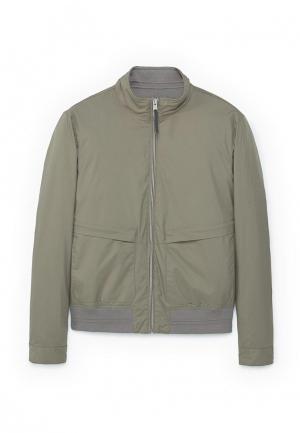 Куртка Mango Man. Цвет: зеленый