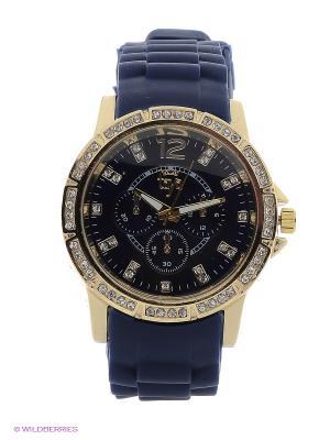 Часы Taya. Цвет: золотистый, темно-синий