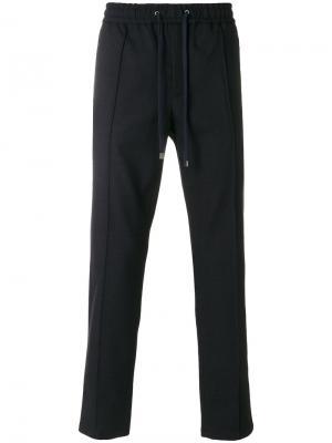 Брюки с эластичным поясом Dolce & Gabbana. Цвет: синий