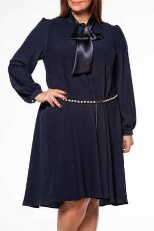 Платье Zedd Plus. Цвет: navy