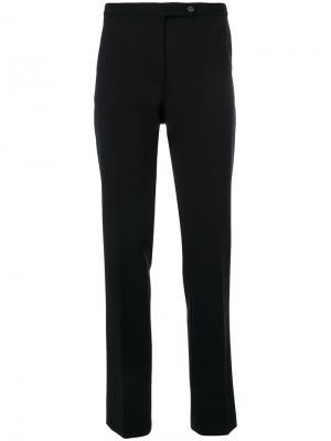 Классические строгие брюки Alberta Ferretti. Цвет: чёрный