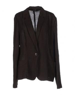 Пиджак NVL__NUVOLA. Цвет: темно-коричневый