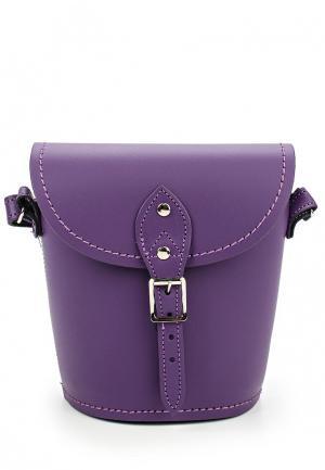 Сумка Zatchels. Цвет: фиолетовый