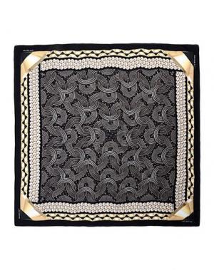 Платок LARA BOHINC. Цвет: черный