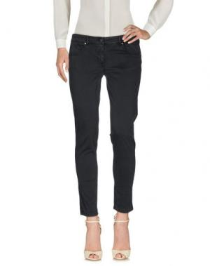 Повседневные брюки 19.70 NINETEEN SEVENTY. Цвет: черный