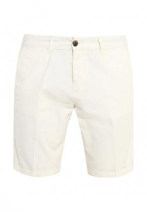 Шорты джинсовые Piazza Italia. Цвет: белый