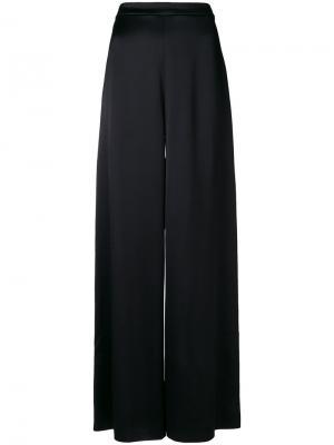 Широкие брюки Temperley London. Цвет: чёрный