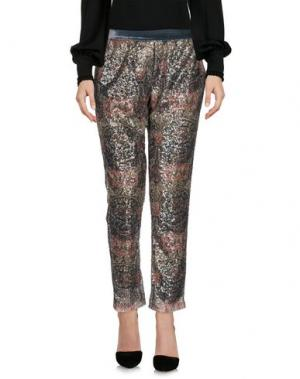 Повседневные брюки SOHO DE LUXE. Цвет: темно-зеленый