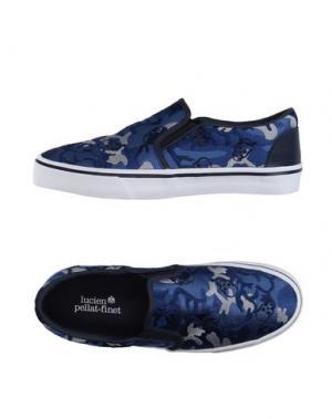 Низкие кеды и кроссовки LUCIEN PELLAT-FINET. Цвет: синий