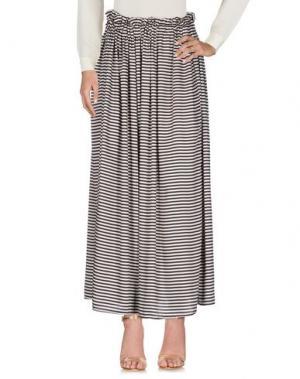 Длинная юбка SOUVENIR. Цвет: бежевый
