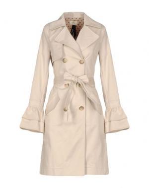 Легкое пальто TOY G.. Цвет: бежевый