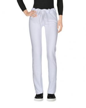 Повседневные брюки JAMES PERSE STANDARD. Цвет: белый