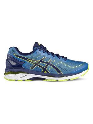 Спортивная обувь GEL-KAYANO 23 ASICS. Цвет: темно-синий, голубой, желтый