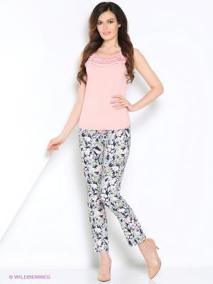 Блуза PRIZZARO. Цвет: бледно-розовый