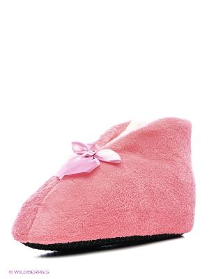 Тапочки Burlesco. Цвет: розовый