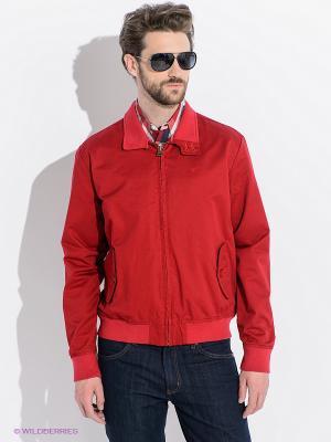 Куртка Wrangler. Цвет: красный