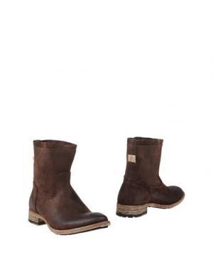 Полусапоги и высокие ботинки SMITH'S AMERICAN. Цвет: темно-коричневый