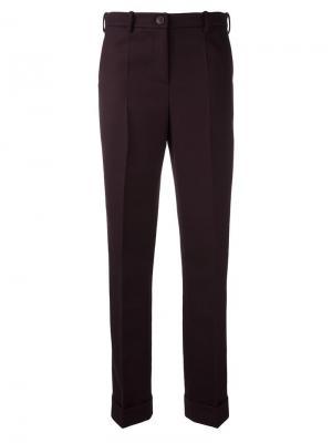Классические брюки Jacquemus. Цвет: красный