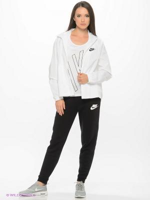 Ветровка W NSW JKT WVN Nike. Цвет: белый