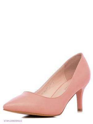 Туфли Wilmar. Цвет: бледно-розовый