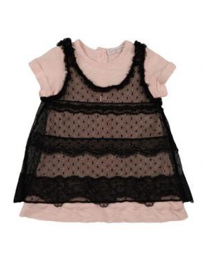 Платье LES PARROTINES. Цвет: черный