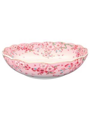Конфетница-салатник Сакура Elan Gallery. Цвет: розовый