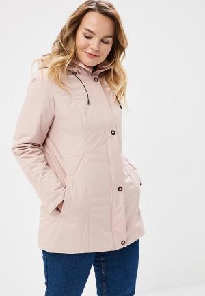 Куртка утепленная Maritta. Цвет: розовый