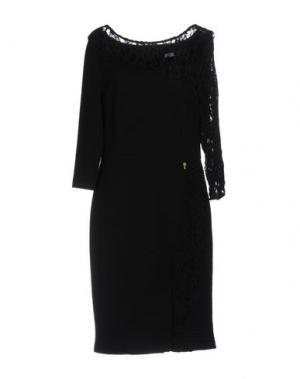 Платье до колена CANNELLA. Цвет: черный