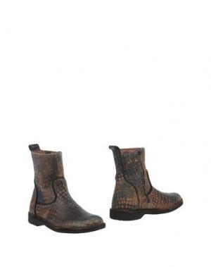 Полусапоги и высокие ботинки BISGAARD. Цвет: цвет морской волны