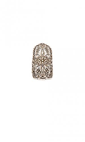 Кольцо get laced Natalie B Jewelry. Цвет: металлический серебряный