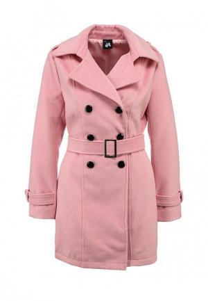Пальто Catwalk88. Цвет: розовый