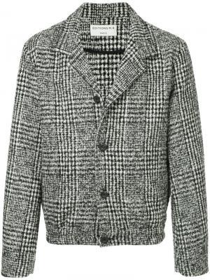 Твидовая куртка на пуговицах Éditions M.R. Цвет: чёрный