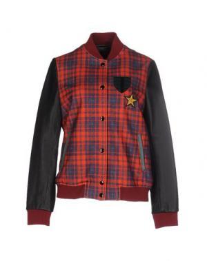 Куртка TRE CINQUE SETTE. Цвет: красный