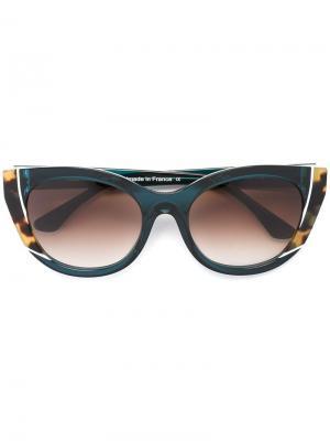 Солнцезащитные очки Nevermindy Thierry Lasry. Цвет: зелёный