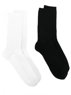Две пары носков psychedelic Omc. Цвет: чёрный