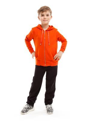 Спортивный костюм TINYFOX. Цвет: терракотовый, черный