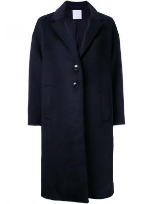 Пальто Chesterfield Cityshop. Цвет: чёрный