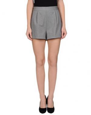 Повседневные шорты EMMA COOK. Цвет: светло-серый