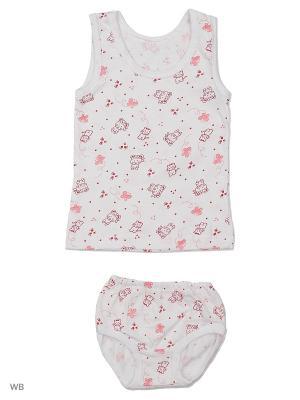 Комплект белья Babycollection. Цвет: розовый