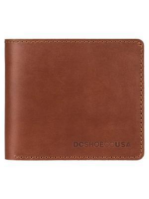 Кошельки DC Shoes. Цвет: серо-коричневый, темно-коричневый