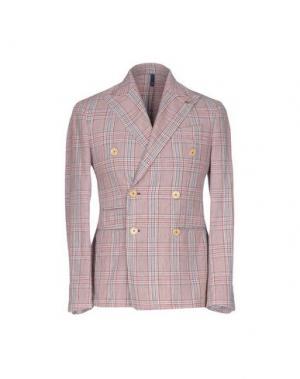 Пиджак DOMENICO TAGLIENTE. Цвет: красно-коричневый