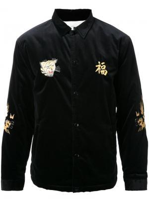 Бархатная куртка Viet-Nam Gold. Цвет: чёрный